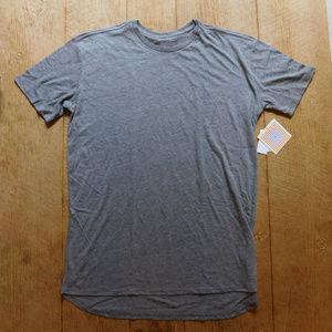 LuLaRoe Patrick Tee Shirt / Heathered Gray